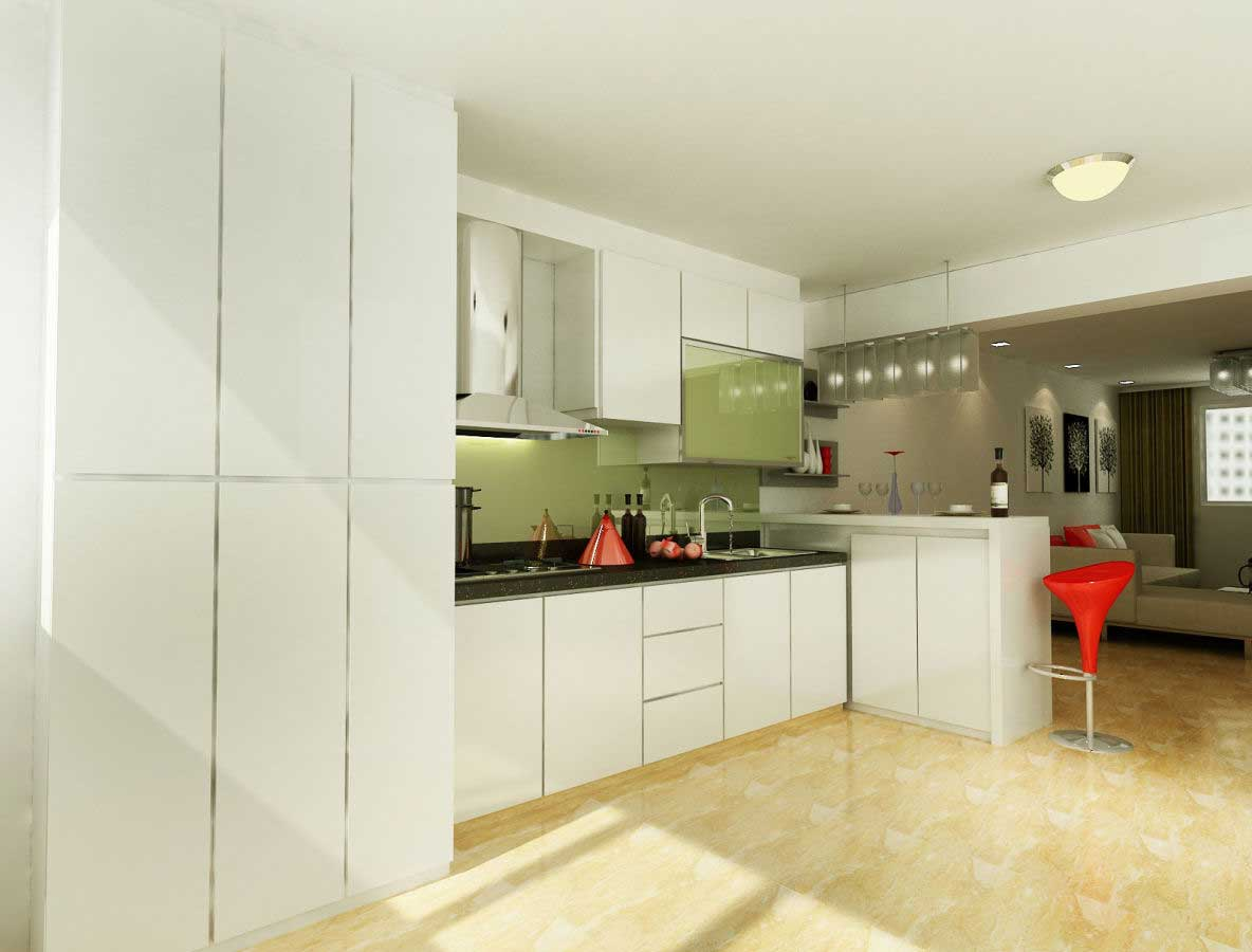 4 Ways To Choose The Right Kitchen Cabinet St Homes Singapore