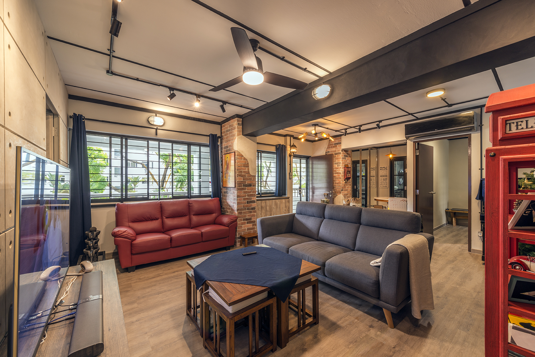 Featured Design Style Industrial St Homes Singapore